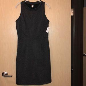 Grey mid-length dress
